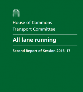 House of commons transport all lanes running
