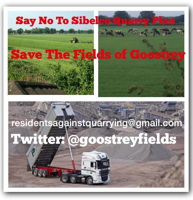 Sibelco Planning  Application Re-Submission – Important Update
